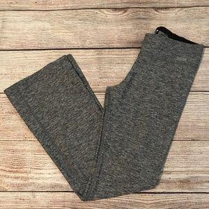 VS PINK Size Medium Ultimate Yoga Pant Grey Perf